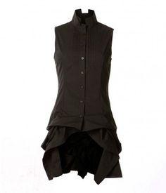 All Saints Black Katerina Gilet RRP £95