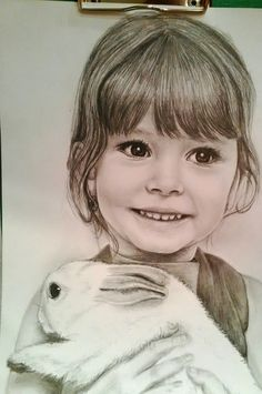 Портрет девочки.Автор Екатерина Бабанова.