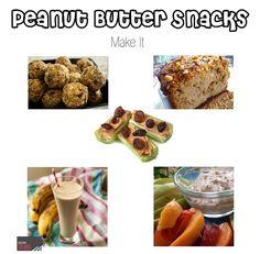 Peanut Butter Snack
