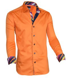 Hello dear!... Make your Friday more fashionable and colorful with our latest designed AVERSA ORANGE shirt.. check out its details @Gail Regan Truax://www.fashion-shirts.com/products/via-uomo-shirt-aversa-orange   #fashion #shirt #onlineshopping