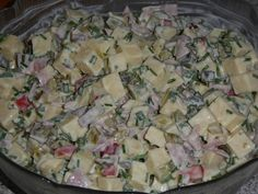 Käsesalat – einfach & lecker, ein beliebtes Rezept aus der Kategorie Eier & Kä… Cheese salad – simple & delicious, a popular recipe from the category of eggs & cheese. Cheese Recipes, Salad Recipes, Cooking Recipes, Kids Meals, Easy Meals, Cheese Salad, Health Eating, Food Humor, Party Snacks