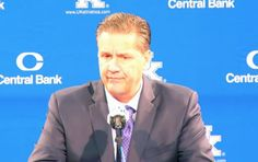 In the moments before he took the court to coach his team in its 2015-16 season opener, John Calipari, like everyone else in the world, was following the tragic news coming out of Paris, France.