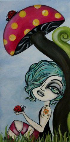 lilygoat:  Artist-Lizzy Falcon Pinterest.com