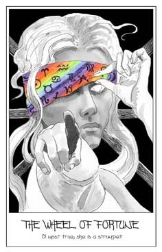 The Pen Tarot by Penelope Cline.