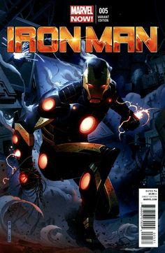 Homem de ferro 05 capa variante de Jim Cheung
