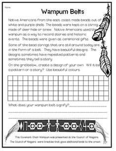 This product includes an informational text on wampum beads with a design grid for students to create their own wampum design. 3rd Grade Social Studies, Social Studies Notebook, Social Studies Activities, Teaching Social Studies, Native American Projects, American History Lessons, Indigenous Education, Aboriginal Education, Art Lessons Elementary