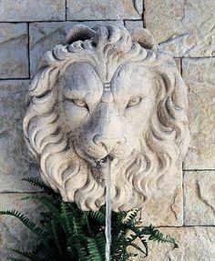 Regal Lion Spouting Face by Henri Studio, http://www.amazon.com/dp/B004667ZNO/ref=cm_sw_r_pi_dp_q2vlrb017V77J