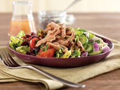 Pulled Greek Pork Salad