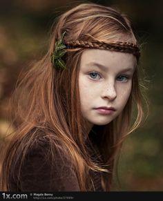 Just found some elvish and dwarf love child ? ...