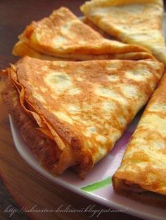 Pancakes melting in your mouth. Meat Recipes, Cooking Recipes, Good Food, Yummy Food, Food Tags, Pancakes And Waffles, Tasty Pancakes, Russian Recipes, No Cook Meals