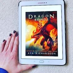 'So I was the only one in the unenviable position of both knowing how strong and determined the king could be, as well as being able to see when he was acting like a stubborn brat who wanted his own way just because.' Dragon Bonds by Ava Richardson  I expected more development by the end of the series, but still a highly enjoyable read.