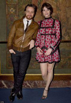 Gemma Arterton celebrated their Olivier Award nominations  Read more: http://www.dailymail.co.uk/tvshowbiz/article-3021160/Gemma-Arterton-puts-legs-spotlight-wears-heart-sleeve-joins-James-McAvoy-star-studded-Olivier-Awards-nominees-lunch.html#ixzz3W5Qm5NQc Follow us: @MailOnline on Twitter   DailyMail on Facebook