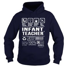INFANT TEACHER Multi Tasking Problem Solving T-Shirts, Hoodies. VIEW DETAIL ==► https://www.sunfrog.com/LifeStyle/INFANT-TEACHER--Multi-tasking-Navy-Blue-Hoodie.html?id=41382