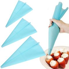 Reusable Icing Piping Cream Pastry Bag Silicone Kitchen Accessories Icing 1pcs  #Unbranded