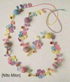 60 Lindos Collares hechos en Crochet | Otakulandia.es