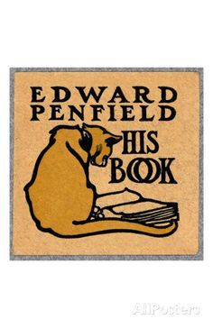 Edward Penfield, His Book アートプリント