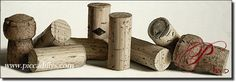 Les Bouchons by Thomas Arvid - our newest baby framed in corks from our favorite bottles
