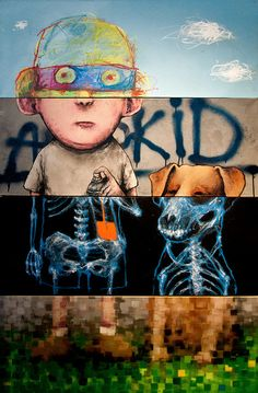 Exquisite Corpse - different media / different styles