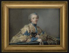 Lady with mask, 1750, French school
