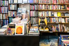 Horton Books store interior