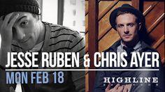 13-02-18 Jesse Ruben & Chris Ayer