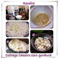Diário sobre a dieta e receitas Dukan - @reedukan - Do Instagram ao Blog: Cottage Caseiro Zero Gordura