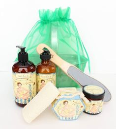 Luxury Spa Vanilla Shake Gift Basket from The Gift Box
