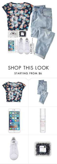 """""""Adorable"""" by brigette002 ❤ liked on Polyvore featuring Aéropostale, Wrap, Fresh, CASSETTE and adidas"""