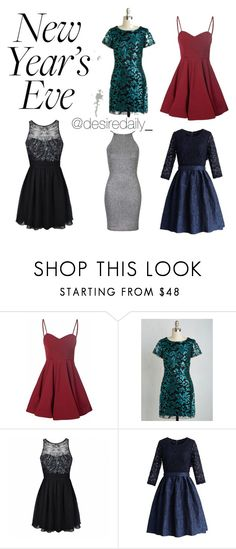 11bb7e45145 new years eve dresses by desiredaily on Polyvore featuring Chicwish