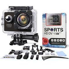Multifonction Action Camera – SAVFY® – Caméra sport / Caméra embarquée étanche 30M Full HD 1080P Enregistreur Vidéo Numérique DVR…