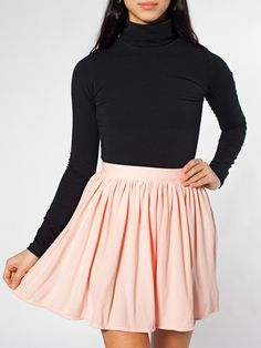 Piqué Full Woven Skirt | Skirts | New & Now's Women | American Apparel = Dreamy skirts I'm too lazy to sew myself..