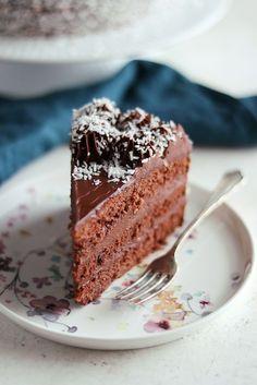 Kärleksmumstårta – My Kitchen Stories Chocolat Cake, Grandma Cookies, Sweet Bakery, Kitchen Stories, Piece Of Cakes, Bread Baking, Tart, Cake Recipes, Food Photography