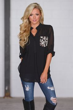 No Exceptions Top - Black from Closet Candy Boutique #fashion #shop
