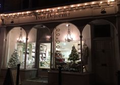 It is already #Christmas in our London stores. Check our #windows ... Chislehurst