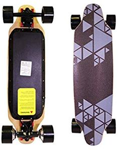 "Amazon.com : COZYSWAN Upgraded Eletric Skateboard, 32"" Hands-Free Control Electric Longboard Skateboard with Built-in LED Light Wireless Remote Control for Adults and Youths (Grey01) : Sports & Outdoors Electric Skateboard, Remote, Outdoors, Hands, Led, Amazon, Sports, Hs Sports, Riding Habit"