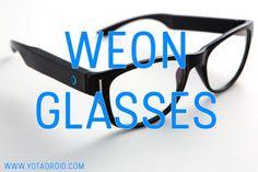 WeOn Glasses, unas smartglasses con acento español.