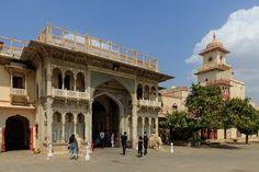 Clădiri ale Palatului orașului din Jaipur, India Palace, Taj Mahal, Asia, City, Building, Jaipur India, Buildings, Palaces, Cities