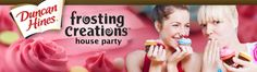 Free Duncan Hines Creations House Party packs, more info-