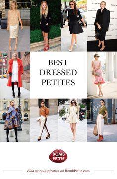 Most stylish petite women #PetiteWomen'sFashion