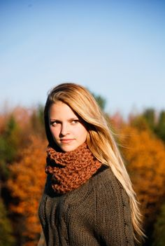 These are my cousin Sarah's Handmade Alpaca Scarves. (That's Sarah in the picture)