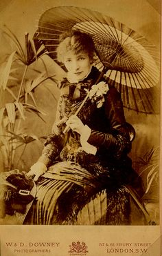 Sarah Bernhardt late 19th century
