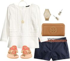 Great outfit for a vacation, cruise excursion, etc.