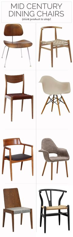 The 8 best mid century dining chairs for just about every budget.  Add one to the office or transform your dining space.