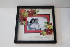 Wedding Scrapbook Picture Framed