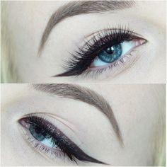 metallic plum eyeshadow used as winged liner Plum Eye Makeup, Plum Eyeshadow, Makeup Tips, Beauty Makeup, Winged Liner, Smokey Eye, Color Pop, Eyeliner, Beauty Hacks