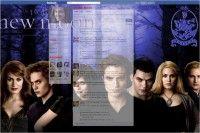 cool twilight Facebook Theme