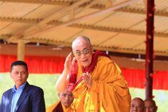 Leh, india-august 2012 - his holiness the dalai lama Stock Photos , 14th Dalai Lama, Evil Empire, Tibetan Buddhism, Leh, Model Release, True Religion, China, India, Stock Photos