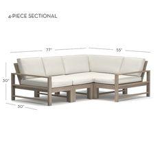 Indio Sectional Set | Pottery Barn