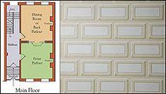ashlar pattern wallpaper