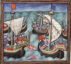 September 21, 1338 CE – Artillery is Used in a Naval Engagement During the Battle of Arnemuiden in the Hundred Years' War - On this day in History